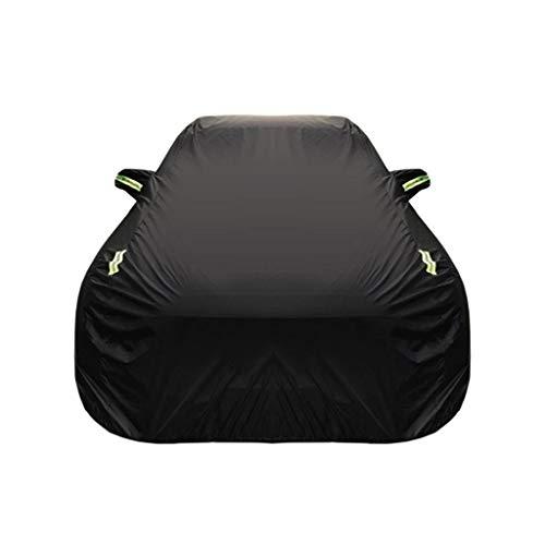 DUWEN Kompatibel mit Mercedes-Benz CLK 200K Cabriolet Car-Cover Outdoor-Staubschutz Oxford-Tuch Auto-Plane Autokleidung Sonnenschutz UV-Kratzfest Allwetter-Atmungsaktiv Vollständige Autoabdeckung