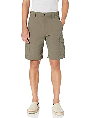Wrangler Authentics Men's Performance Cargo Short, Weimaraner Brown, 42