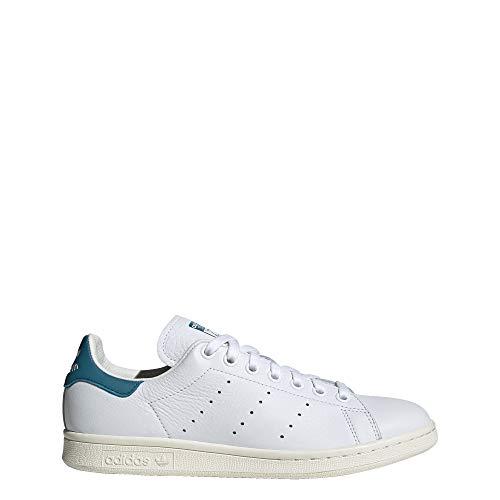 adidas Damen Stan Smith Schuhe, Weiá (Cloud White / Active Teal / Off White), 41 EU