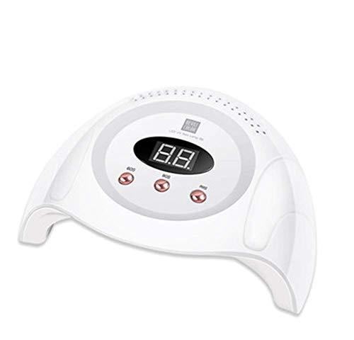 Secador de esmalte de uñas Pulidores Kits de arte de lámpara de calor Uv Led Gel Lámpara de uñas Esmalte de curado Secador de luz Belleza Detección automática con 3 ajustes de temporizador / 60/90 / 9
