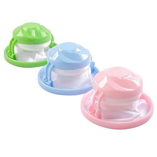 Fanville 3 Stks Wasmachine Filter Tas Lint Traps Lint Catcher Huishoudelijke Herbruikbare Haarverwijderaar Tool voor Wasmachine
