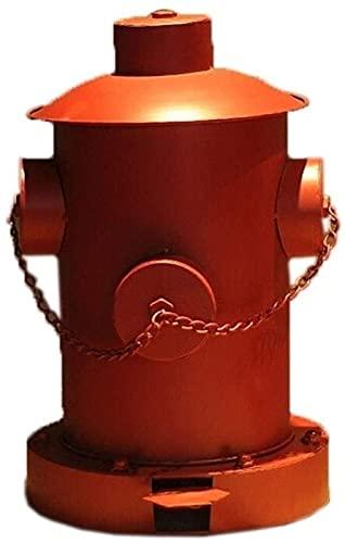 DZCGTP Papelera de Reciclaje de residuos/Papelera Creativa de Hierro Forjado Bote de Basura Pedal Bote de Basura de Viento Industrial Bote de Basura de Bar Familiar Bote de Basura de Cocina