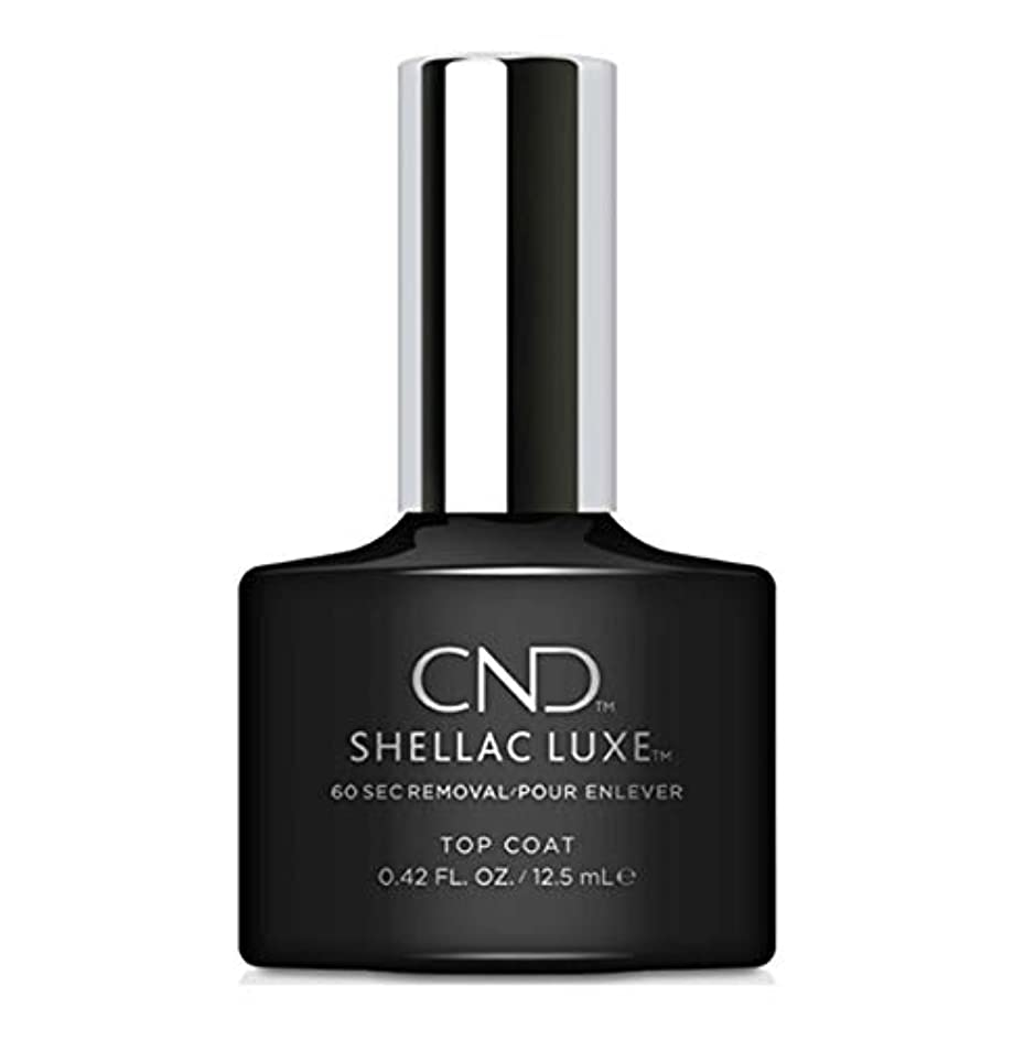 嘆願ブラシエレベーターCND Shellac Luxe - Top Coat - 12.5 ml / 0.42 oz