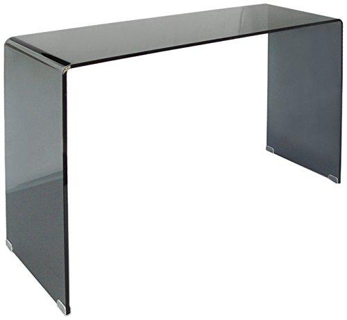 designement Jacques Console Verre Fumé 110 x 35 x 75 cm