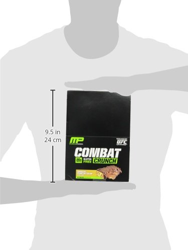 Muscle Pharm Combat Crunch Supplement, 12 count - 31P9sYq2vbL