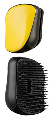 Beauté Secrets Detangler Compact Styler Detangling Hairbrush Hair Brush for Adults and Kids, Wet & Dry Hair, Removes Knots and Tangles Pain Free