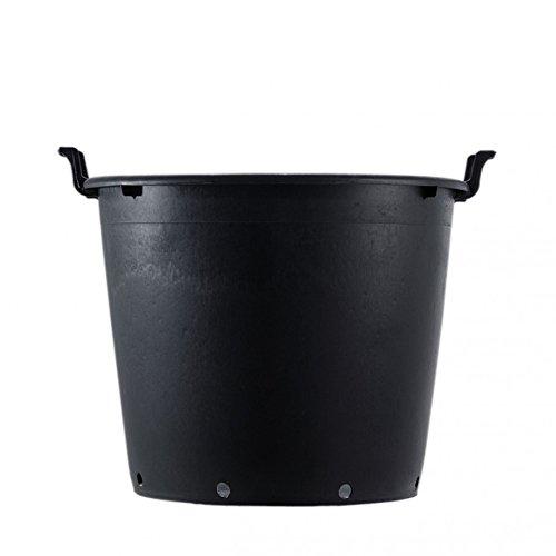 Stonefiber Einsatz mit Griffen für Pot rund XXL schwarz