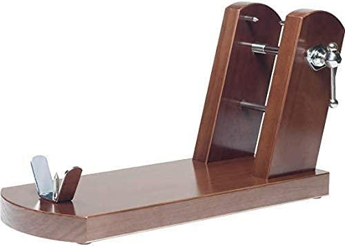 Jamonero profesional modelo Rioja madera de pino, soporte jamonero ideal para cocina doméstica y...