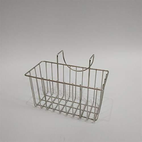 MNSYD Soporte de esponja de cocina de acero inoxidable para fregadero, escurridor líquido para lavavajillas