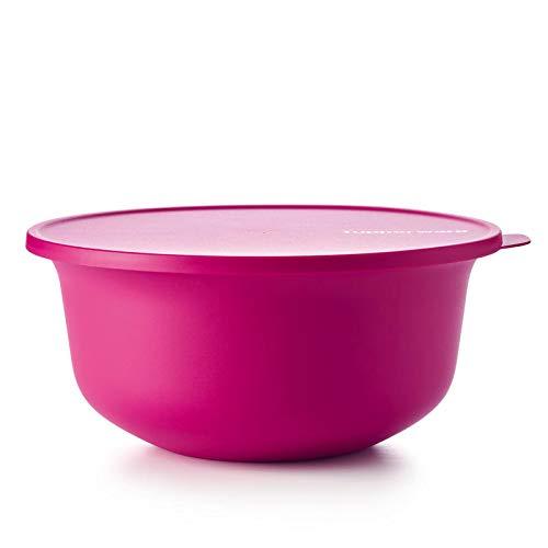 Tupperware Aloha Servierschüssel Salatschüssel Beere pink 4000ml 4 Liter Schüssel mit Deckel Vorratsdose XL