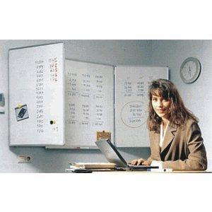 Ultradex Whiteboard Klapptafel 3-teilig 1200x900mm weiß Email