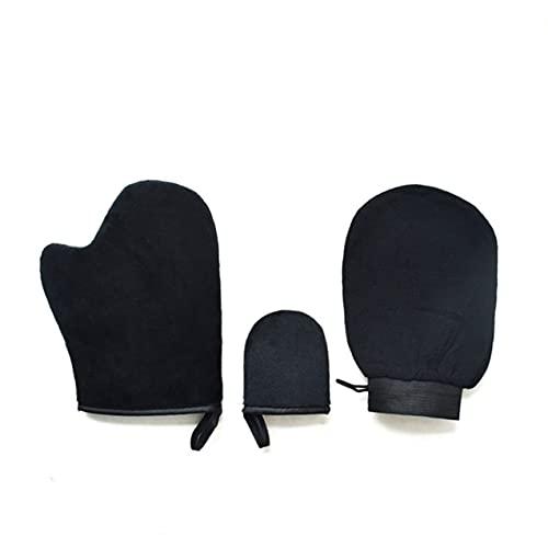 NewIncorrupt 3 uds, guante exfoliante mágico, guante exfoliante para eliminar el bronceado, autobronceador, crema de limpieza corporal, aplicador de autobronceador