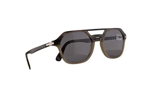 Persol 3206-S Sonnenbrille Grauen Opal Beige Mit Grauem Gläsern 51mm 1065R5 PO 3206S PO3206S PO3206-S