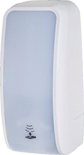 Schaumseifenspender Sensor, berührungslos, bis zu 2.500 Anwendungen je 1-Liter, blitzschneller Kartuschenwechsel, Blanc Cosmos - Weiß