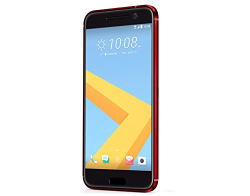 HTC 99HAJH137-00 Smartphone (12 MP Kamera, 32GB Speicher, 13,20 cm (5,2 Zoll) lava rot
