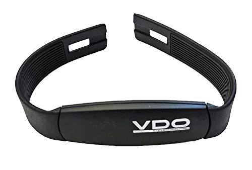 VDO 6604 Pulssender ANT+ digital Herz Sensor kompatibel mit Garmin Edge Explore 520plus