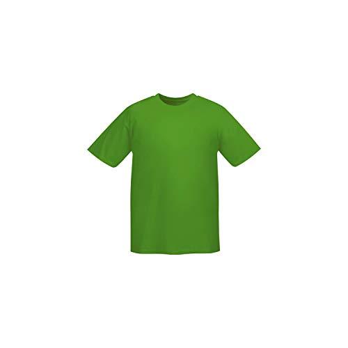 MISEMIYA - Camiseta Uniforme Laboral Industrial Taller MECÁNICO TÉCNICO Fontanero ALBAÑIL- Ref.001 - XL, Verde Manzana
