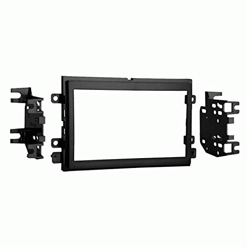 Carxtc Double Din Install Car Stereo Dash Kit for a Aftermarket Radio Fits 2005-2009 Ford Mustang Trim Bezel is Black