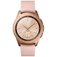 Samsung Galaxy Watch Bluetooth, Reloj inteligente con SAMOLED, Pantalla táctil, GPS (satélite), Oro rosa, 42 mm
