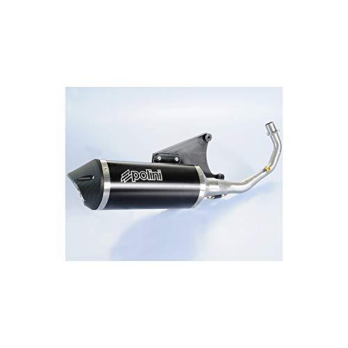 701000240007 - Línea Completa Maxi-Scooter Acero Inoxidable/Silenciador Aluminio/Cubierta Aluminio