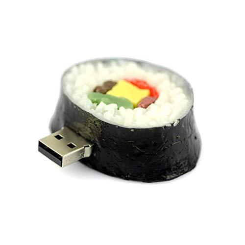 JIANYUXIN USB unità Flash da 128 GB, 4 GB 8 GB 16 GB 32 GB 64 GB USB Pizza, Sushi, Memoria Flash USB A Forma di Hamburger Regalo Flash Drive USB 2.0