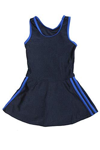 [グロウンチャーム] スクール水着 女子 ワンピース インナー付き sksb3013san-w ブルー 120cm