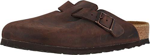 Birkenstock Boston Soft Footbed (Unisex) Habana Oiled Leather 42 (US Men's 9-9.5, US Women's 11-11.5) Regular
