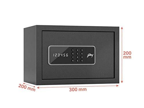 Godrej Security Solutions Godrej 8 litres Home Safe Digital Locking Systems (Digi, Ebony)