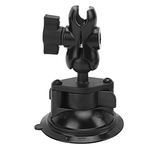 Soporte de succión, soporte de succión para registrador de datos de automóvil de montaje en ABS de doble bola, soporte de ventosa para montaje en cámara de automóvil de 360 °, para Gopro / DJI OSMO