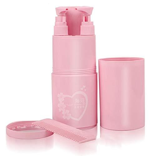 Kit de voyage Lavage Tasse Shampooing Crème de Bain Stockage Portable Peigne Miroir Ensembles