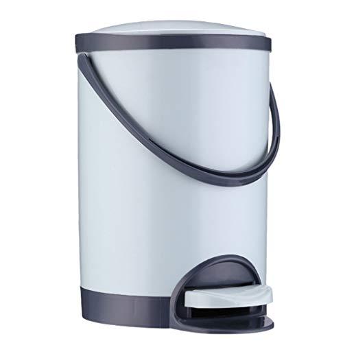 Liefde lamp Huishoudelijke Keuken Badkamer Vuilnisbakken Voet Pedaal Vuilnis Kan Vuilnisbak Afval Bin Voor Thuis Kantoor 5.5L/8.5L