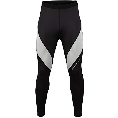 SKYSPER Camiseta de Compresión Manga Larga para Hombre Pantalones Largos Leggings Apretada...