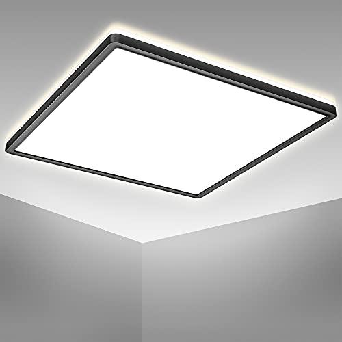 B.K.Licht 22 Watt LED Panel I 420x420x29mm I Ultra Flach I indirektes Licht I neutralweiße Lichtfarbe I 3.000lm I LED Deckenleuchte I Deckenlampe