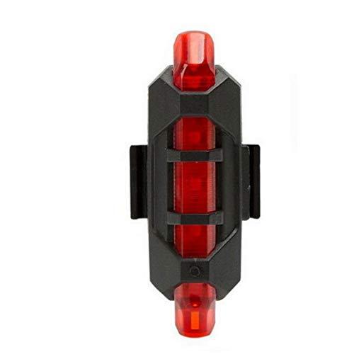 Fahrradrücklicht USB Aufladbare 5 Led Rücklicht Sicherheit Warnung Radfahren Licht Super Helle Bewegliche Fahrrad-Blitz-licht-rot