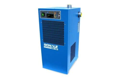Schulz REFRIGERATED AIR Dryer for AIR Compressor, Compressed AIR Systems, 100 CFM, Good for 20HP & 25HP COMPRESSORS