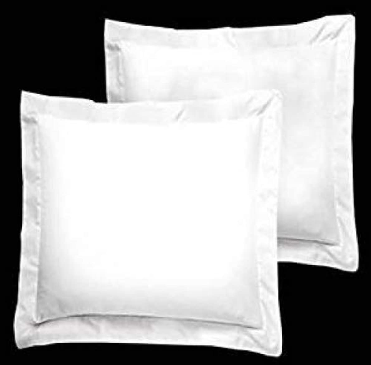 Bedify Collection American Size Set of 2pcs Pillow Case 400 Thread Count Euro 26x26