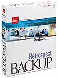 Dantz Retrospect Backup Version 6.5 Multi Server for Windows