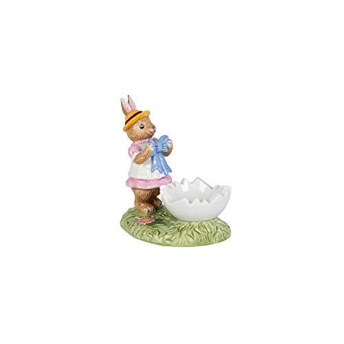 Villeroy & Boch Annual Easter Edition 2020 Coquetier coloré en porcelaine rigide 9 x 7 x 10 cm Multicolore