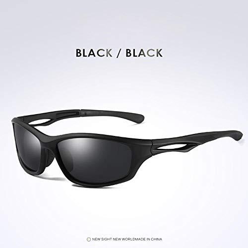 Jbwlkj Gafas de Sol polarizadas para Hombres Gafas de Sol tácticas para Exteriores Gafas de Sol para Hombre Diseño de Marca Gafas Militares