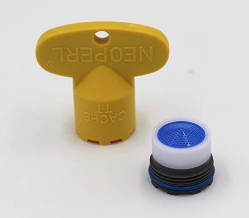 Neoperl Strahlregler (Luftsprudler, Perlator), TT / M16.5x1 - Durchflussklasse V: full flow, Kunststoff - 10994098
