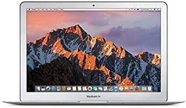 """Apple MacBook Air 13.3"""" (i5-5350u 8gb 128gb SSD) QWERTY U.S Teclado MQD32LL/A Mitad 2017 Plata (Reacondicionado)"""