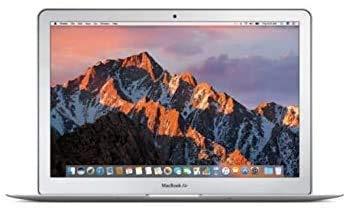 """Apple MacBook Air 13.3"""" (i5-5350u 8gb 256gb SSD) QWERTY U.S Teclado MQD32LL/A Mitad 2017 Plata (Reacondicionado)"""