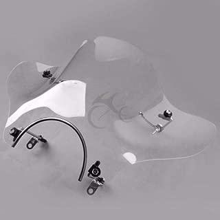 Motorcycle Screen Windshield Wind Shield For Honda For Suzuki For Yamaha Cruiser VTR XV V-STAR
