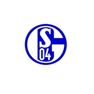 FC Schalke 04 Aufkleber blau
