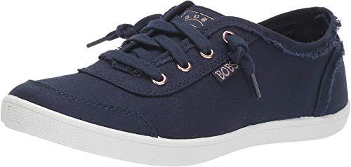 Skechers womens Bobs B Cute Sneaker, Navy, 8 US