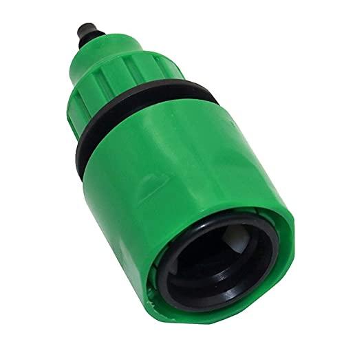 Accesorios de Conector de Manguera 30 Adaptadores de Acoplamiento rápido con púas de 8 mm y 4 mm Accesorios para Sistemas de riego de jardín de 1/4 '' Conexiones de Manguera de tubería de jardín