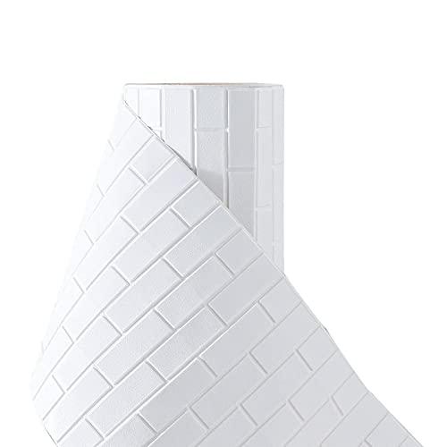 3D Paneles Pared Autoadhesivos,Pegatinas de Baldosas Engrosadas, Azulejos Adhesivos 3D Pegatinas de Azulejos Auto-Adhesivo, Cenefa Autoadhesivo, para Baño y Cocina Decorativo, Impermeable, 70CM wide(