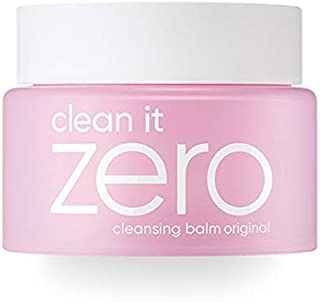 BANILA CO Clean It Zero Cleansing Balm Original for Normal Skin, double cleanser, removes makeup and dead skin cells, with Hot Springs Water, Vitamin E. NO animal Testing. Without Parabens