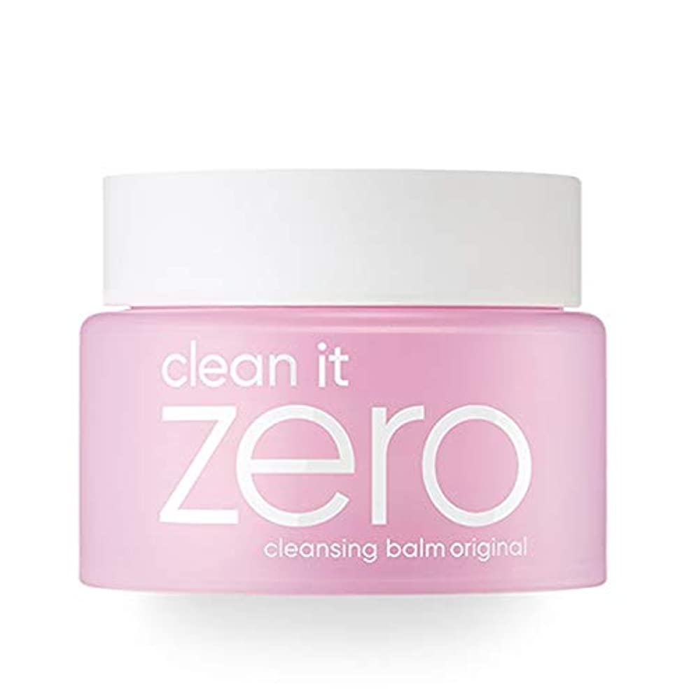 BANILA CO NEW Clean It Zero Cleansing Balm Original – Instant Makeup Remover, Facial Wash, 100ml, Double Cleanse, Hydrates, All Skin Types, Hypoallergenic