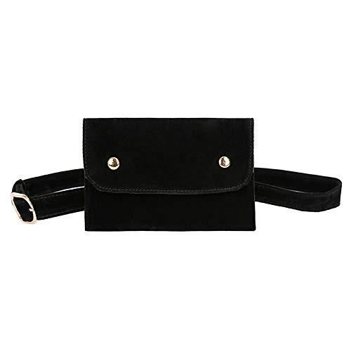 VJGOAL Damen Kupplung, Frau Abendpaket Rein Farbe Quadrat Herde Bote Tasche Brusttasche Mode Gürteltasche